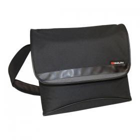 Monolith Nylon Laptop Messenger Bag W400 x D115 x H365mm Black 2386