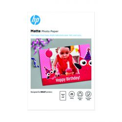 Cheap Stationery Supply of Hewlett Packard HP Matte FSC Photo Paper 4x6 Inch (Pack of 25) 7HF70A Office Statationery