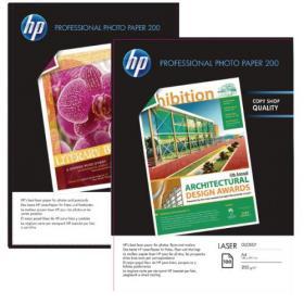 Hewlett Packard HP Professional Gloss Laser Photo A4 Paper 200gsm (Pack of 100) CG966A