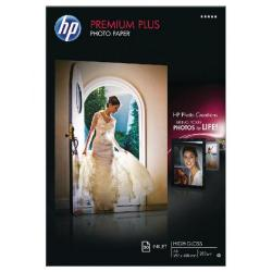 Cheap Stationery Supply of Hewlett Packard HP White A3 Premium Plus Glossy Photo Paper (Pack of 20) CR675A Office Statationery