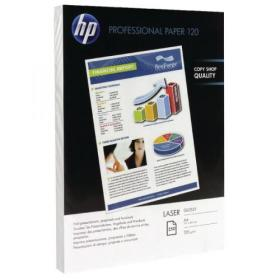 Hewlett Packard HP A4 White Professional Glossy Laser Paper 120gsm (Pack of 250) CG964A