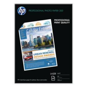 Hewlett Packard HP A4 White Professional Matte Laser Paper (Pack of 100) Q6550A