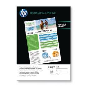 Hewlett Packard HP A4 White Professional Matte Inkjet Paper 120gsm (Pack of 200) Q6593A