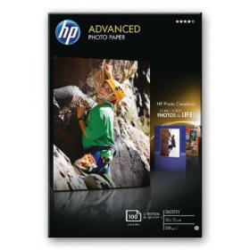 Hewlett Packard HP Advanced Glossy Photo Paper 250gsm 10x15cm Borderless (Pack of 100) Q8692A