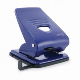 Rapesco 835 Hole Punch w/Paper Guide Capacity 40 Sheets Blue PF800AL1