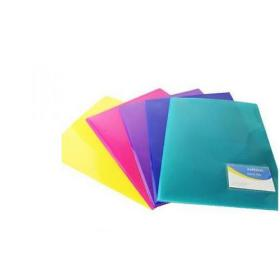Rapesco Assorted Bright A4 Twin ID Files (Pack of 5) 0788