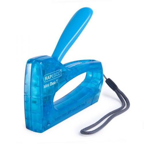 Powder Blue 1338 Rapesco X5-Mini Less Effort Stapler 20-Sheet Capacity