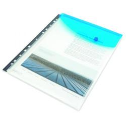 Cheap Stationery Supply of Rapesco Ring Binder Popper Wallet A4 Assorted (Pack of 5) 1630 Office Statationery