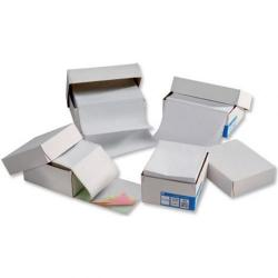 Cheap Stationery Supply of 5 Star Office Listing Paper 1-Part 70gsm 11inchx368mm Ruled 2000 Sheets Office Statationery