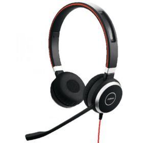 Jabra Evolve 40 UC Duo PC Headset 52655