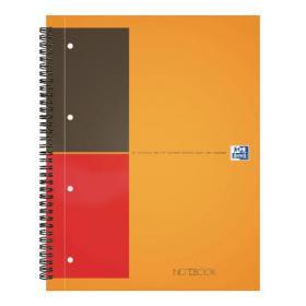 Oxford International A4 Plus Wirebound Hardback Notebook 100104036