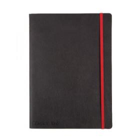 Black n Red Soft Cover Notebook B5 Black 400051203