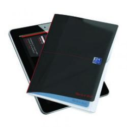Cheap Stationery Supply of Black n Red A4 Wirebound Notebook Pack of 3 400033549 Office Statationery