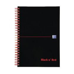 Cheap Stationery Supply of Black n Red Ruled Wirebound Notebook 140 Pages B5 (Pack of 5) JD31641 Office Statationery