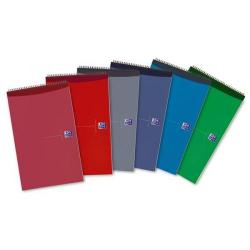 Cheap Stationery Supply of Oxford 125x200 mm Wirebound Reporters Notebook 140-Pages Ruled Assorted 1 x Pack of 10 100080519 Office Statationery