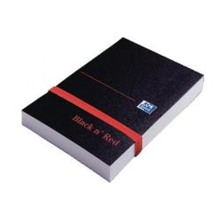 Cheap Stationery Supply of Black n Red Policeman Elasticated Notebook Polypropylene 192 Pages Plain Pk10 BOGOF JD811280 Office Statationery