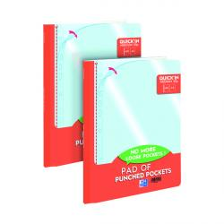 Cheap Stationery Supply of Oxford Punch Pocket Pad A4 (Pack of 60) 2 For 1 JD811289 Office Statationery