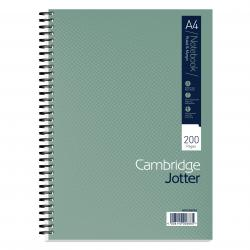 Cheap Stationery Supply of Cambridge Ruled Margin Wirebound Jotter Notebook 200 Pages A4 (Pack of 3) 400039062 Office Statationery