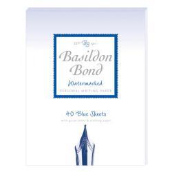 Cheap Stationery Supply of Basildon Bond Writing Pad 137 x 178mm Blue (Pack of 10) 100100123 Office Statationery