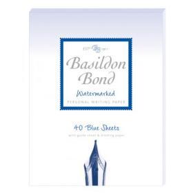 Basildon Bond Writing Pad 137 x 178mm Blue (Pack of 10) 100100123