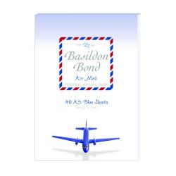 Cheap Stationery Supply of Basildon Bond Airmail Pad 148 x 210mm Blue (Pack of 10) 100104698 Office Statationery