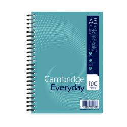 Cheap Stationery Supply of Cambridge Notebook Wirebound 100P 70g A5 (Pack of 10) 100080190 Office Statationery