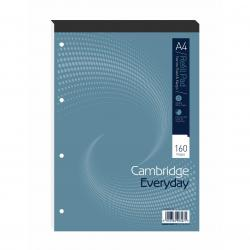 Cheap Stationery Supply of Cambridge Everyday A4 Refill Pad Narrow Ruled Margin (Pack of 5) 100080168 Office Statationery