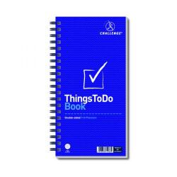 Cheap Stationery Supply of Challenge Wirebound Things To Do Today Pad 280x141mm 100080050 Office Statationery