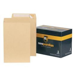 Cheap Stationery Supply of New Guardian Armour Envelope 381x279x50mm Manilla (Pack of 100) H28313 Office Statationery