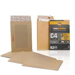 Cheap Stationery Supply of New Guardian C5 Boardback Envelope with FOC C4 Gusset Envelope Office Statationery