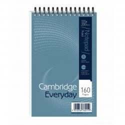 Cheap Stationery Supply of Cambridge Everyday Ruled Wirebound Notebook 160 Pages 125 x 200mm (Pack of 10) 846200078 Office Statationery