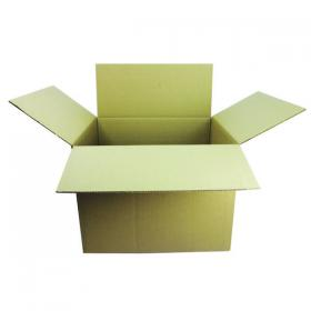 Double Wall Corrugated Dispatch Cartons 599x510x410mm Brown (Pack of 15) SC-19