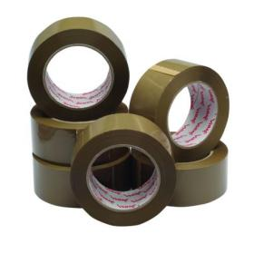 Polypropylene Packaging Tape 50mmx132m Brown (Pack of 6) HP PB-480132-25