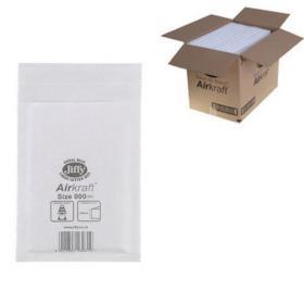 Jiffy AirKraft Bag Size 000 90x145mm White (Pack of 150) JL-000