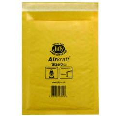 Cheap Stationery Supply of Jiffy AirKraft Bag Size 0 140x195mm Gold GO-0 (Pack of 10) MMUL04602 Office Statationery