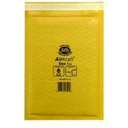 Cheap Stationery Supply of Jiffy AirKraft Bag Size 1 170x245mm Gold GO-1 (Pack of 10) MMUL04603 Office Statationery