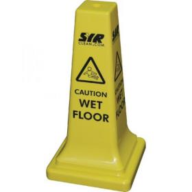 SYR Caution Wet Floor Hazard Warning Cone 21 Inches 992387