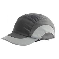 Cheap Stationery Supply of JSP Hard Cap A1+ Short Peak Black/Grey ABS000-005-0 Office Statationery