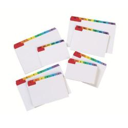 Cheap Stationery Supply of Concord 5x3in Multicolour Guide Cards Pack of 24 15198 Office Statationery