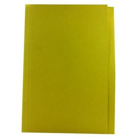 Guildhall Square Cut Folder Mediumweight Foolscap Yellow (Pack of 100) FS250-YLWZ