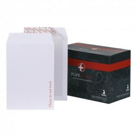 Plus Fabric Envelopes PEFC Premium Brd-backed Please Do Not Bend Peel & Seal 120gsm C4 White Pack of 125