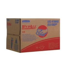 Wypall X70 Wipers Box 1-Ply White 150 Sheets (Retain strength even when wet) 8383