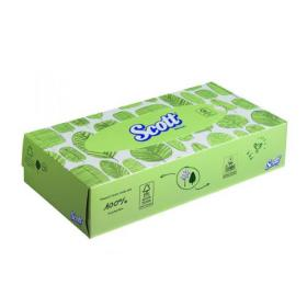 Scott Facial Tissues Box 100 Sheets (Pack of 21) 8837