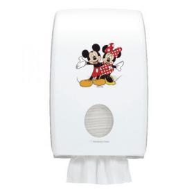 Aquarius Disney Folded Hand Towel Dispenser Mickey and Minnie Mouse 6855
