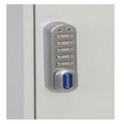Cheap Stationery Supply of Phoenix Deep Plus & Padlock Key Cabinet KC0501E 24 Hook with Electronic Code Lock Office Statationery