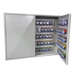Cheap Stationery Supply of Phoenix Deep Plus & Padlock Key Cabinet KC0503E 50 Hook with Electronic Code Lock Office Statationery