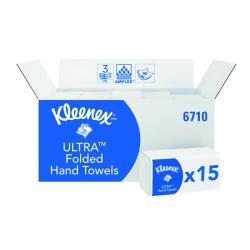 Cheap Stationery Supply of Kleenex Ultra Soft Hand Towels 3Ply White (Pack of 15) 6710 Office Statationery
