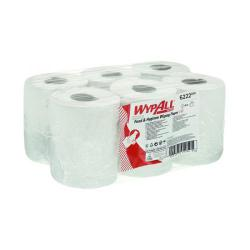 Cheap Stationery Supply of WypAll L10 Food Hygiene Centrefeed Paper Rolls 1-Ply 6 Rolls/430 Wipes White (Pack of 2580) 6222 Office Statationery