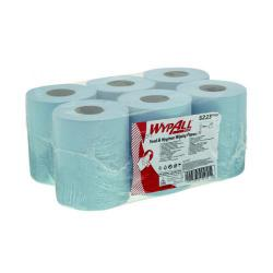Cheap Stationery Supply of WypAll L10 Food Hygiene Centrefeed Paper Rolls 1-Ply 6 Rolls/430 Wipes Blue (Pack of 2580) 6223 Office Statationery