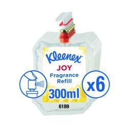 Cheap Stationery Supply of Kleenex Botanics Joy Aircare Fragrance Refill 300ml (Pack of 6) 6189 Office Statationery